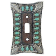Turquoise Single Switch Wall Plate