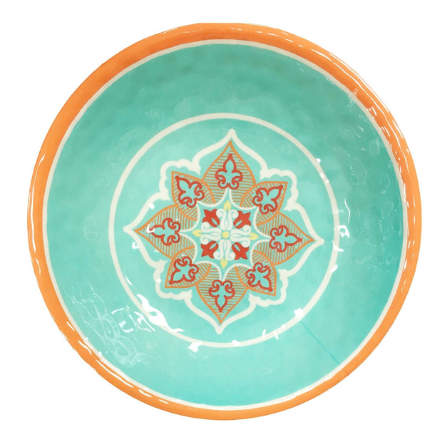 Western Motif Melamine Serving Bowl (EA)