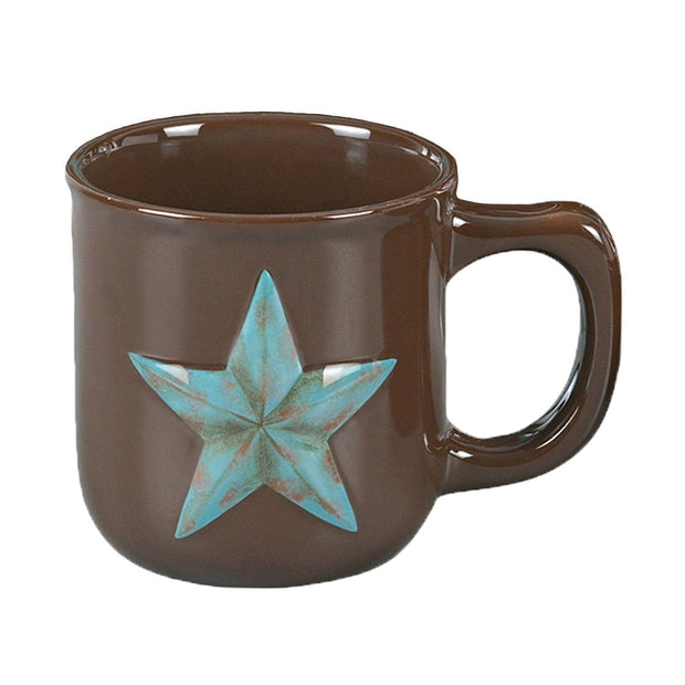 Western Star Ceramic Mug, 16oz - Set of 16