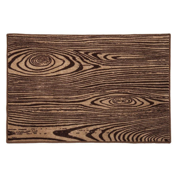 Woodgrain Kitchen/Bath Rug