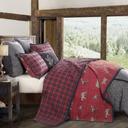 Woodland Plaid 3-PC Reversible Quilt Set