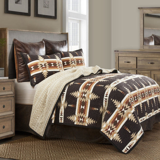 Yosemite Reversible Quilt Set