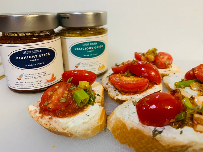 Easy Cherry Tomato Crostini Recipe