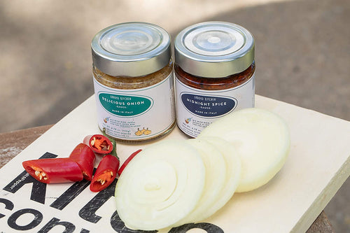Italian Sauces: Midnight Spice & Delicious Onion