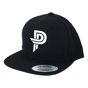 Black PP Snap Back Hat