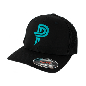 Black/Black PP Flexfit Hat