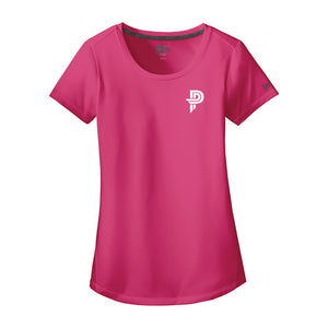Ladies New Era Performance Scoop Tee