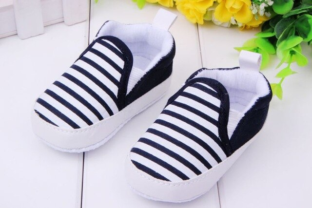 New design baby Boy first walkers shoes Soft Sole Skid Proof Baby Shoes 0-12 Months