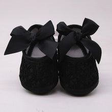 Load image into Gallery viewer, Huang Neeky #P501 2019 Newborn Baby Girls Soft Shoes Soft Soled Non-slip Bowknot Footwear Crib Shoes First Walker Drop Shipping