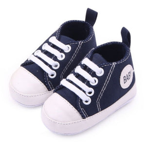 Newborn First Walker Infant Baby Boy Girl Kid Soft Sole Shoes Sneaker Born 0-12 Months New