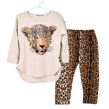 Load image into Gallery viewer, Girl Clothes Winter Toddler Kids Sets Leopard Long Sleeve Costume Outfit Suit Children Clothing 5 6 7 8 9 10 12 Years Teen 19Aug