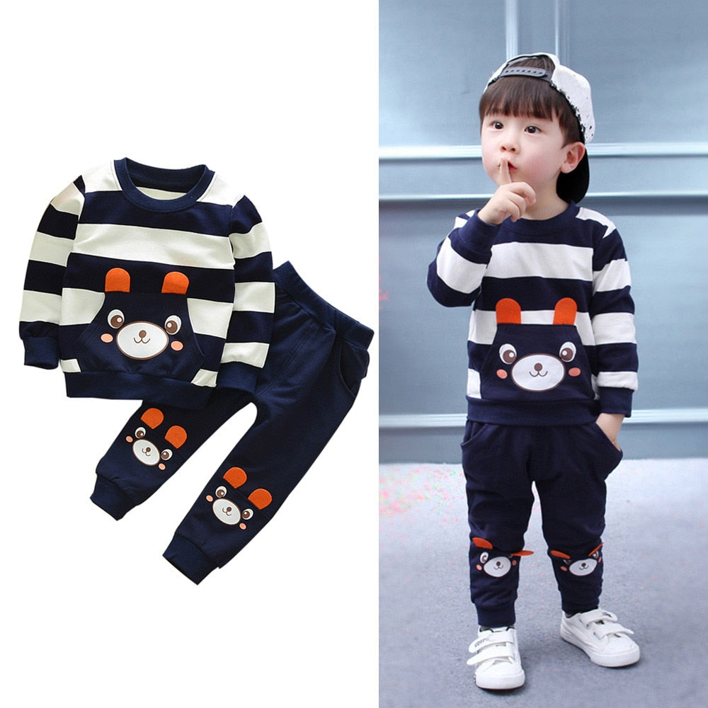 Boys Winter Clothes Letter Tracksuit Camouflage Tops Pants 2PCS Outfits Teen Kids Baby Boys Set Vetement Enfant Garcon