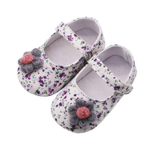 Load image into Gallery viewer, New Born Baby Girl Boys  Shoes 1 Year Infant Newborn Toddler Shoes Flowers Soft Baby Girl Baby Booties 2019 First Walkers