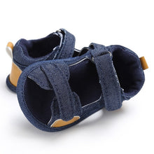 Load image into Gallery viewer, 2018 Baby Boy Girls Sandal Summer Moccasins Shoes Casual Cotton Bottom Anti-Slip Sandal 0-18M