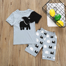 Load image into Gallery viewer, Boys Clothes Pajamas Cartoon Printed Tops Shorts Pants Kids Tracksuit Sports Suits For Child Boy Clothing 1 2 3 4 5 6 7 Years