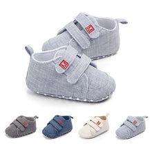 Load image into Gallery viewer, Autumn Baby Boys Girls Canvas Shoes High Quality Two Strap Newborn Baby Toddler Fashion First Walkers For 0-18M