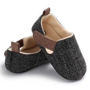 Infant Shoes Spring Autumn Baby Boy Solid Shoes Non-slip Breathable Toddler Hook Loop First Walkers forborn