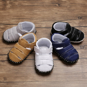 Toddler Sandal Shoes Summer Baby Boys Breathable Anti-Slip Hollow Design Sandals Infant Soft Soled Footwear Shoe For Boys