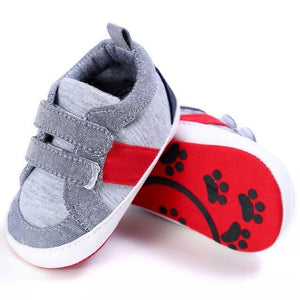 Baby Shoes The First Walker Newborn Baby Shoes Cotton Striped Kids Toddler Crib Shoes Soft Soled Summer  QZ