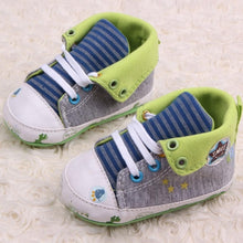 Load image into Gallery viewer, Cute Cartoon Printed Baby Kids High Shoes Casual Anti-Slip Toddler Walk Sneaker