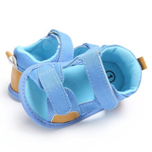 Load image into Gallery viewer, New Summer Breathable Baby Boys Kids Splice Color Hollow Out Anti-skid Casual Baby Canvas Cack Shoes