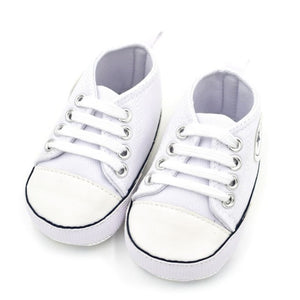 Summer Canvas Baby Shoes Infant Cotton Fabric First Walkers Soft Sole Shoes Girl Boys Footwear 6 colors