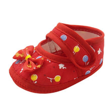 Load image into Gallery viewer, ROMIRUS Soft Sole Cotton Newborn Infant Baby Bow Girls Soft Sole Prewalker Warm Casual Flats First Walkers Toddler Shoes 15