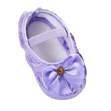Load image into Gallery viewer, Girls Flowers Bow Baby Toddler Shoes 11cm 12cm 13cm Spring Autumn Children Footwear First Walkers