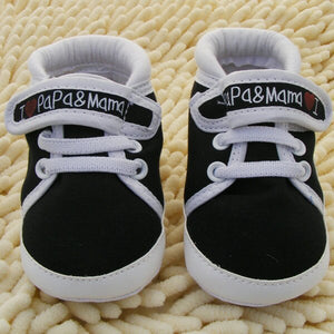 0-18M Canvas Sneaker Toddler Newborn Shoes Baby Infant Kids Boy Girls Soft Sole New