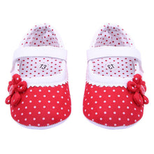 Load image into Gallery viewer, LONSANT Baby Shoes 2018 Summer Baby Girls Flower Shoes Soft Sole Toddler Crib Shoes First Walker Dropshipping Wholesale
