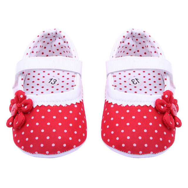 LONSANT Baby Shoes 2018 Summer Baby Girls Flower Shoes Soft Sole Toddler Crib Shoes First Walker Dropshipping Wholesale