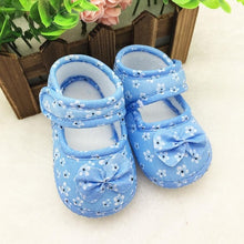 Load image into Gallery viewer, ARLONEET Baby Shoes Canvas Girl Boy Soft Sneaker Kids Flowers Printed  Newborn Cloth Shoes Colorful comfortable  baby shoes
