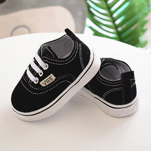 Load image into Gallery viewer, Newborn Infant Toddler Baby Boy Girl Spring Autumn Soft Bottom Spring Canvas Shoes Walkers Newborn 0- 24M