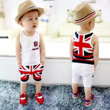 Load image into Gallery viewer, Kids Baby Newborn Infant Character Pattern Boys Set Summer Kids Clothing Sets Boys Clothing Sets Ropa Ninos Summer Baby Clothe