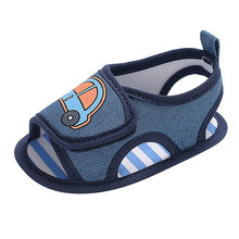 Load image into Gallery viewer, baby boy shoes Infant Newborn Baby Boy Cartoon Car Non-Slip Soft Sole Single Shoes baby schoenen jongens2.481