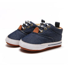 Load image into Gallery viewer, Fashion Baby Shoes Toddler Infants Boy Shoes bebek ayakkabi New born Baby Boys Shoes First Walkers Canvas Sneaker