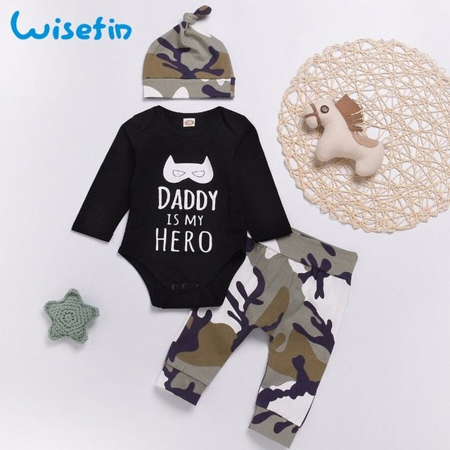 Newborn Baby Boy Clothes Set fathers day gift set baby spring clothes toddler suit erkek bebek giyim fashion kids clothing D20