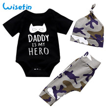 Load image into Gallery viewer, Newborn Baby Boy Clothes Set fathers day gift set baby spring clothes toddler suit erkek bebek giyim fashion kids clothing D20