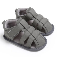 Load image into Gallery viewer, Summer Baby Sandals Newborn Baby Shoes Breathable Hollow Baby Boy Shoes Cotton Fashion Baby Girls Sandals