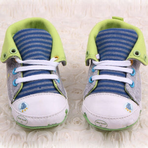 Cute Cartoon Printed Classic Baby Girls Boys Shoes Casual Anti-Slip Toddler Sneaker First Walkers