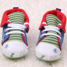 Load image into Gallery viewer, Cute Cartoon Printed Classic Baby Girls Boys Shoes Casual Anti-Slip Toddler Sneaker First Walkers