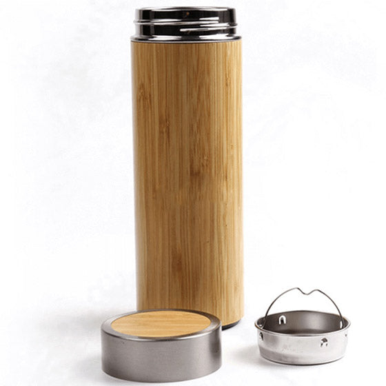 Thermos bambou infuseur - Gourde Morning