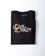 Love & Loyalty Long Sleeve T-shirt - Black