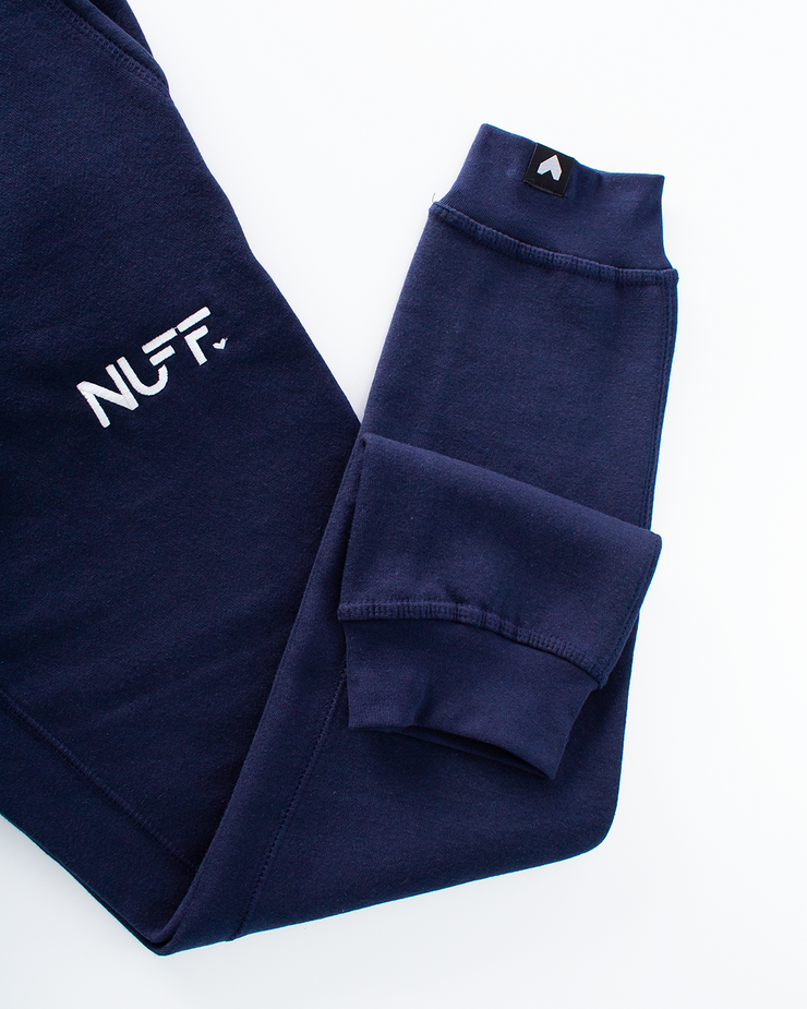 Original Zip Joggers - Navy Blue