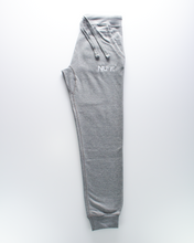 Load image into Gallery viewer, Original Zip Joggers - Heather Grey