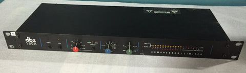 Used dbx 160A Compressor/Limiter for Sale. We Sell Professional Audio Equipment. Audio Systems, Amplifiers, Consoles, Mixers, Electronics, Entertainment, Live Sound