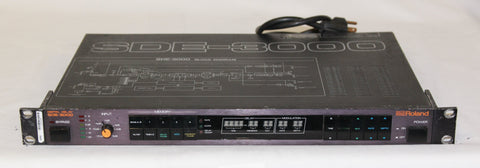 Roland SDE-3000 Digital Delay, $5 Flat Fee US Shipping
