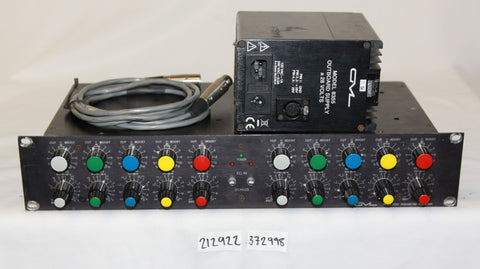 Massenburg GML 8200, Parametric Equalizer, 2 Ch - 5 Band, FREE US SHIPPING