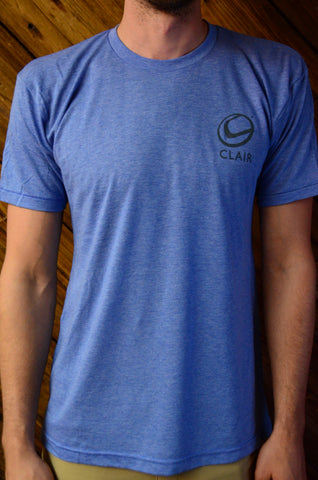 Unisex TriBlend American Apparel (Athletic Blue) T-Shirt, Employee Pricing