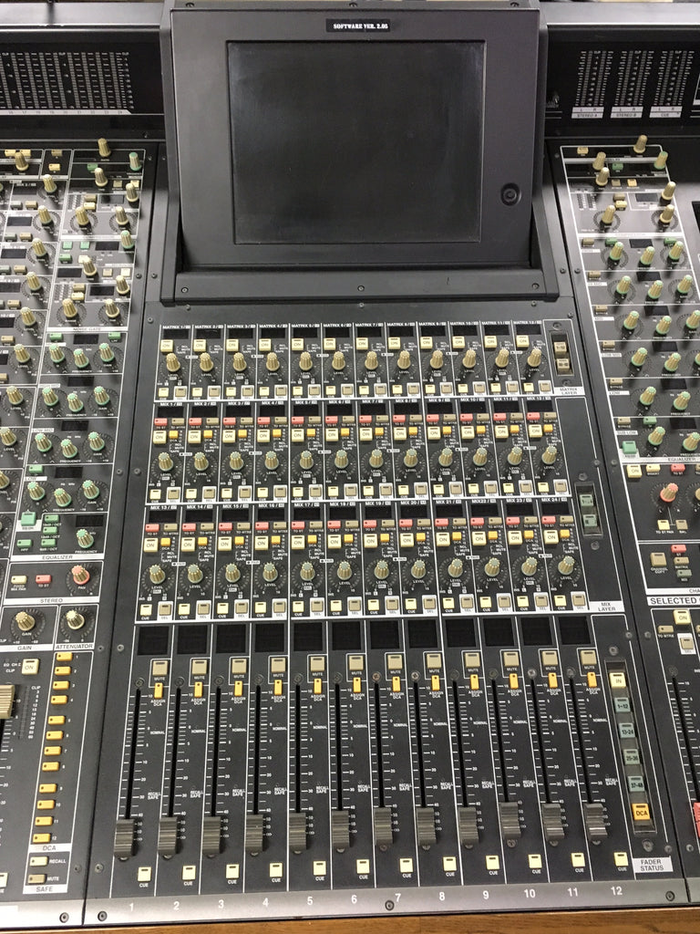 Used Yamaha Pm1d System Console Mixer Equipment For Sale